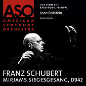 Schubert: Mirjams Siegesgesang, D. 942 by Sarah Shafer