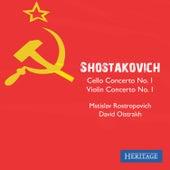 Shostakovich: Cello Concerto No. 1 and Violin Concerto No. 1 by Various Artists