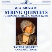 Mozart: String Quintet in G minor K. 516 - String Quintet in C minor K. 406 by Anna Maunther
