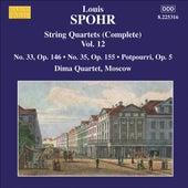SPOHR: String Quartets (Complete), Vol. 12 (Nos. 33, 35) by Moscow Dima Quartet