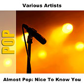 Almost Pop: Nice To Know You by Studio Group