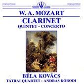 Mozart: Clarinet Quintet - Clarinet Concerto by Bela Kovacs
