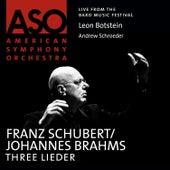 Schubert: Three Lieder by Andrew Schroeder