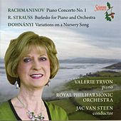 Rachmaninov, Strauss & Dohnányi: Works for Piano & Orchestra by Valerie Tryon
