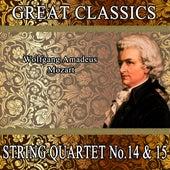 Wolfgang Amadeus Mozart: Great Classics. String Quartet No. 14 & 15 by Orquesta Filarmónica Peralada