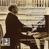 Piano Masterpieces, Vol. 5: Ferenc Liszt & Robert Schumann by Sviatoslav Richter