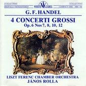 Handel: 4 Concerti Grossi, Op. 6 Nos. 7, 8, 10, 12 by Kalman Kostyal