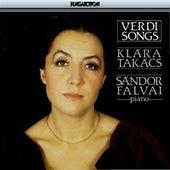 Verdi: Songs by Klara Takacs