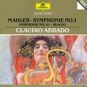 Mahler: Symphony No.1; Symphony No.10: Adagio by Various Artists