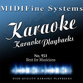 Best for Musicians No. 951 (Karaoke Version) by MIDIFine Systems