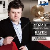 Mozart: Horn Concerto No. 2, Symphony No. 38 Prague, Haydn: Horn Concerto No. 1 by Czech Sinfonietta