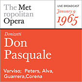 Donizetti: Don Pasquale (January 9, 1965) by Metropolitan Opera