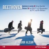 Beethoven: String Quartets, Vol. 2 by Quatuor Alcan (Shubert)