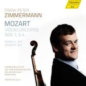 Mozart: Violin Concertos Nos. 1, 3 & 4 by Frank Peter Zimmermann