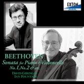 Beethoven: Sonata for Piano and Violoncello No. 1, No. 2 by Ian Fountain