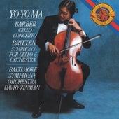Barber: Cello Concerto; Britten: Symphony for Cello & Orchestra (Remastered) by Yo-Yo Ma