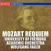 Mozart: Requiem by University of Freiburg Academic Orchestra