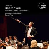 Beethoven: Symphonies Nos. 3 & 5 by Stuttgarter Philharmoniker