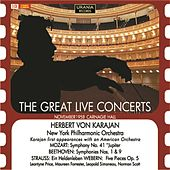 The Great Live Concerts: Herbert von Karajan (Live 1958) by Various Artists