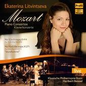 Mozart: Piano Concertos (Live) by Ekaterina Litvintseva