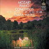 Mozart: Piano Concertos K. 271 - K. 415 - K. 459 - K. 466 - K.488 by Klara Haskil