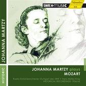 Mozart: Violin Concertos by Johanna Martzy