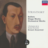 Stravinsky: Ballets/Stage Works/Orchestral Works by Various Artists
