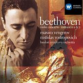 Beethoven: Violin Concerto/Romances by Maxim Vengerov