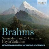 Brahms Serenades 1 & 2, Overtures, Haydn Variations by Various Artists