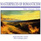 Masterpieces of Romanticism: Weber · Schumann · Brahms by Peter Grabinger