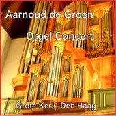 Orgelconcert by Aarnoud de Groen