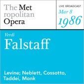 Verdi: Falstaff (March 8, 1986) by Metropolitan Opera