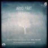 Pärt: Da pacem by Arvo Pärt