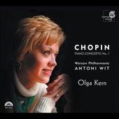 Chopin: Piano Concerto No.1, Fantaisie Op.49, Bolero Op.19, Fantaisie-Impromptu Op.66, Polonaise Op.53 by Frederic Chopin