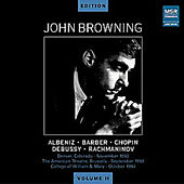 John Browning Edition, Vol. II - Various Composers by John Browning