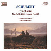 Symphonies Nos. 3 and 6 by Franz Schubert