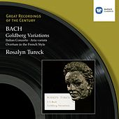 Goldberg Variations etc by Rosalyn Tureck