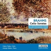 Brahms Cello Sonatas by Gabor Rejto