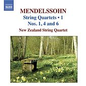 MENDELSSOHN: String Quartets, Vol. 1 - String Quartets Nos. 1, 4, 6 by New Zealand String Quartet