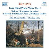 Four Hand Piano Music Vol. 1 by Johannes Brahms