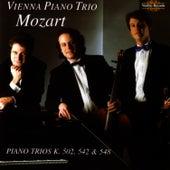 Mozart Piano Trios K502, K542 & K548 by Wolfgang Amadeus Mozart