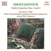 Violin Concertos Nos. 1 and 2 by Dmitri Shostakovich