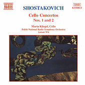Cello Concertos Nos. 1 and 2 by Dmitri Shostakovich