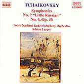 Symphonies Nos. 2 and 4 by Pyotr Ilyich Tchaikovsky