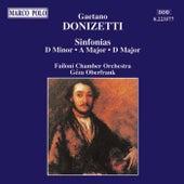 Sinfonias by Gaetano Donizetti