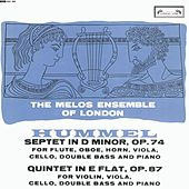 Hummel: Septet; Quintet by The Melos Ensemble Of London