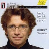 Joseph Haydn: Complete Symphonies Vol. 8 - No. 41, 44 & 47 by Heidelberger Sinfoniker