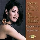 STRAVINSKY: Duo Concertante  / RAVEL: Violin Sonata by Marta Aznavoorian