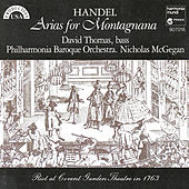 Handel: Arias for Montagnana by David Thomas