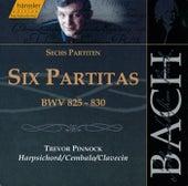Bach: Six Partitas for Keyboard by Trevor Pinnock